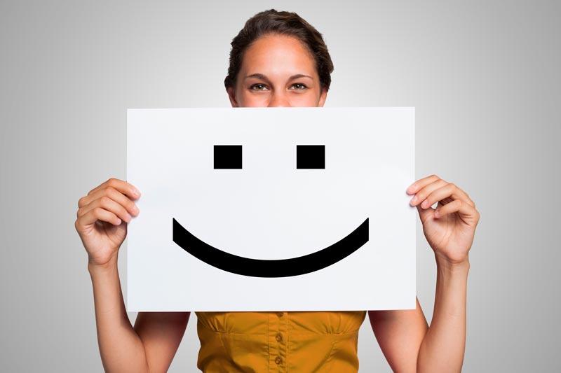 Icône Satisfaction client